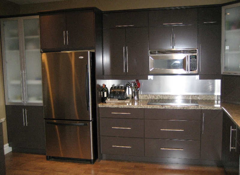Modern Chocolate Brown  Trand Kitchens Inc  Trand Kitchens Inc